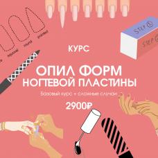 """Курс """"Опил форм ногтевой пластины"""""""