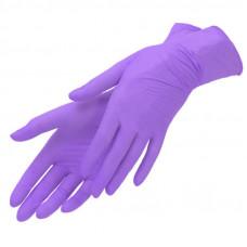 Перчатки нитрил Лиловые 1 кор. S (50 пар)