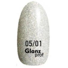 Glanz prof.Гель-лак Crystal №05/01 10 г