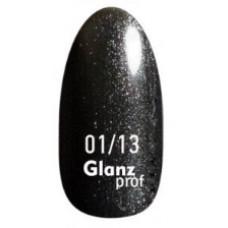 Glanz prof.Гель-лак Black Star №01/13 10 г