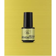 Лак для искусственных ногтей CNI Metallizer Gold 5 мл