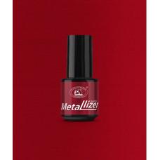 Лак для искусственных ногтей CNI Metallizer Red 5 мл