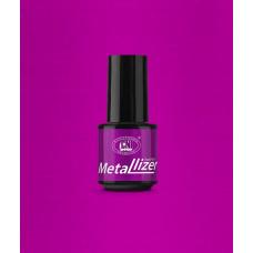Лак для искусственных ногтей CNI Metallizer Pink 5 мл