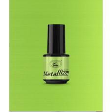 Лак для искусственных ногтей CNI Metallizer Green 5 мл