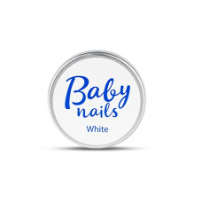 Скульптурный гель CNI Baby Nails White gel белый 15 г