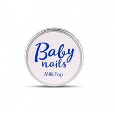 Защитный гель CNI Baby Nails Milk Top с молочным оттенком 15 г