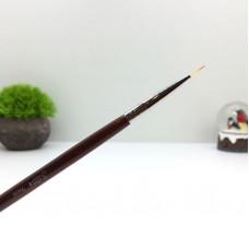 SOLINE.Кисть волосок - коричневая ручка 9 мм