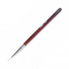 SOLINE.Кисть волосок - коричневая ручка 11 мм