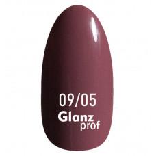 Glanz prof.Гель-лак Lipstick №09/05 10 г