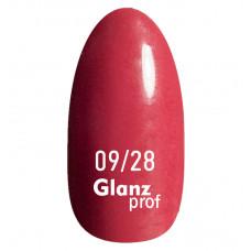 Glanz prof.Гель-лак Lipstick №09/28 10 г
