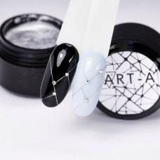 Гель Паутинка (Spider gel) Art-A серебро (06)
