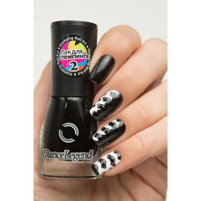 DL Лак для ногтей СТЕМПИНГ № 02 черный