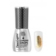 DL Жидкие краски Chrome Drops №01 золото