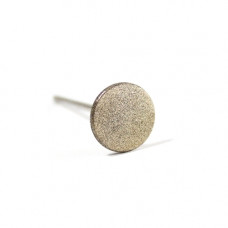 Алмазная насадка (круг) двухсторонняя 15мм (S) Кристалл Nails