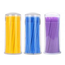 SOLINE.Микробраши ultrafine фиолетовые 100 шт
