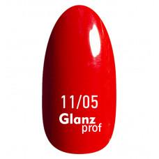 Glanz prof.Гель-лак Red №11/05 10 г