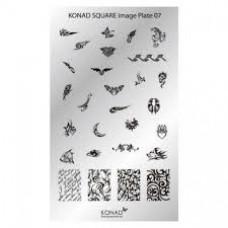 KONAD.Пластина Square Plate-07