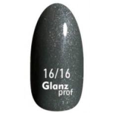 Glanz prof.Гель-лак Frost Berry №16/16 10 г
