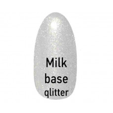 Базовое покрытие FLOX Professional Milk Base GLITTER 10 г