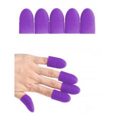 SOLINE.Зажим силиконовый д.снятия наращенных ногтей 10 шт.