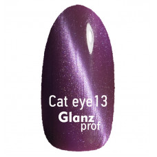 Glanz prof.Гель-лак Cat eye Кошачий глаз №13 10 г