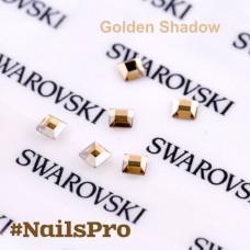 СВАРОВСКИ КВАДРАТ MM 2,2 Crystal Golden Shadow 6 шт