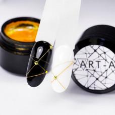 Гель Паутинка (Spider gel) Art-A золото (05)