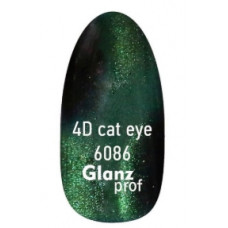 Glanz prof.4D cat eye Кошачий глаз №6086 7 г