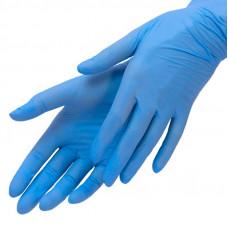 Перчатки нитрил Голубые 1 кор. L (50 пар)